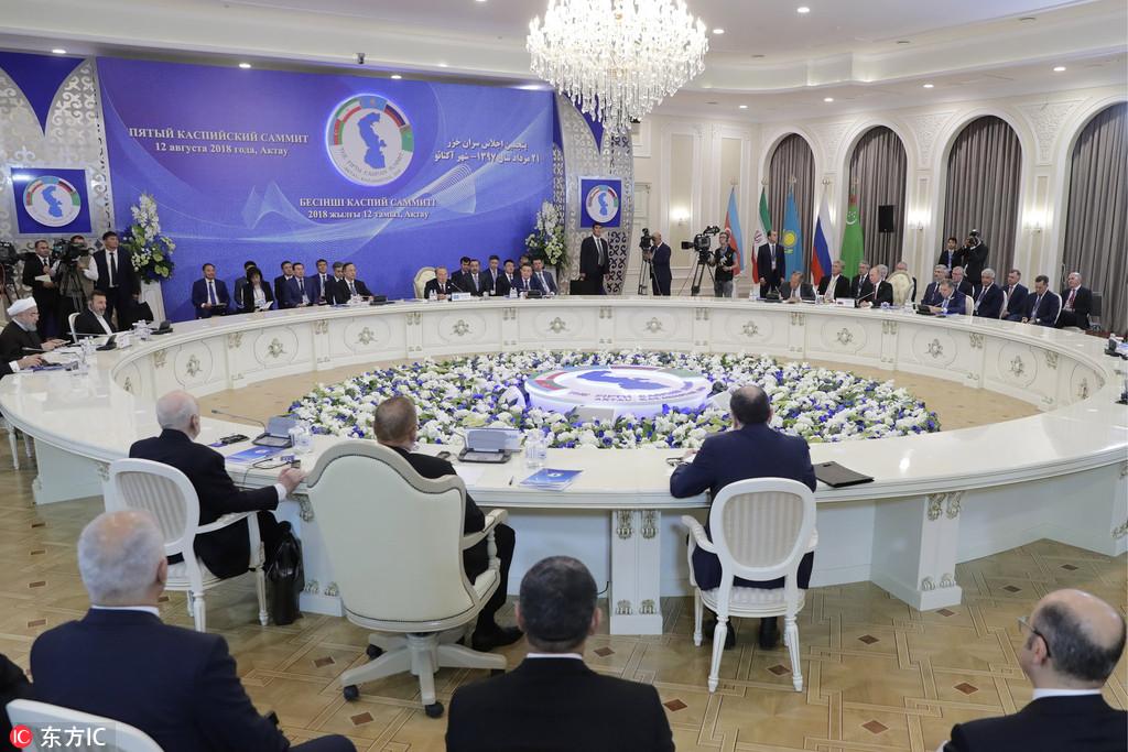 Five Caspian Sea states sign landmark deal