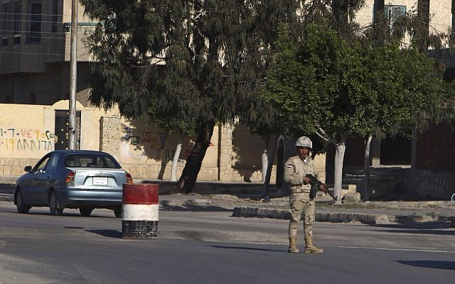 Egypt: Security forces kill 12 Islamic militants in Sinai
