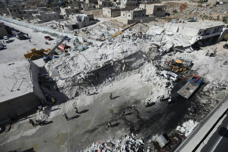 Update: Children among 39 civilians dead in Syria arms depot blast: monitor