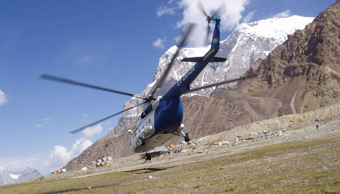 """Helicopter carrying 16 persons makes """"hard landing"""" in Tajikistan - reports"""
