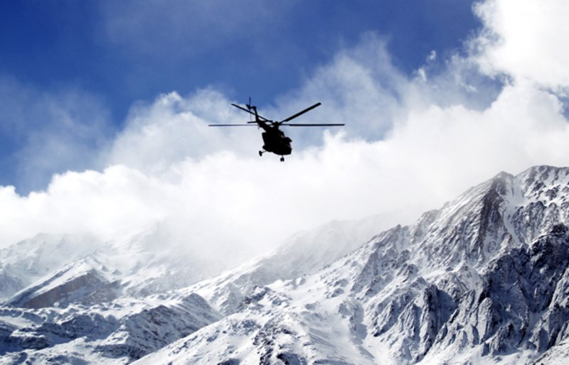 13 climbers, crew reportedly alive after chopper hard lands in Tajikistan