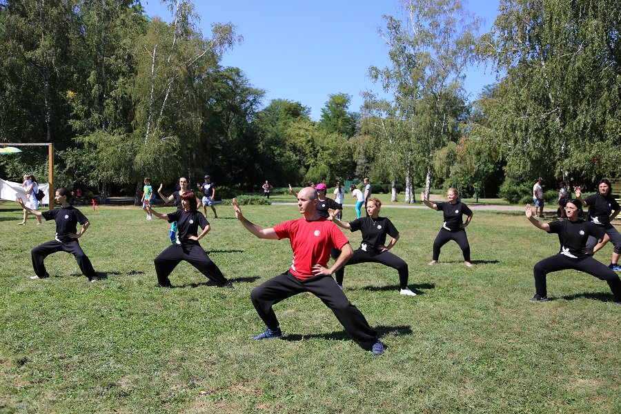 Romanians love, practice Chinese martial arts