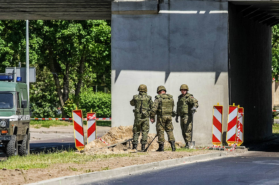 Some 2,000 evacuated for removal of 3 WWII bombs in Poland