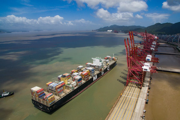 The Belt and Road gives boost to Ningbo-Zhoushan port