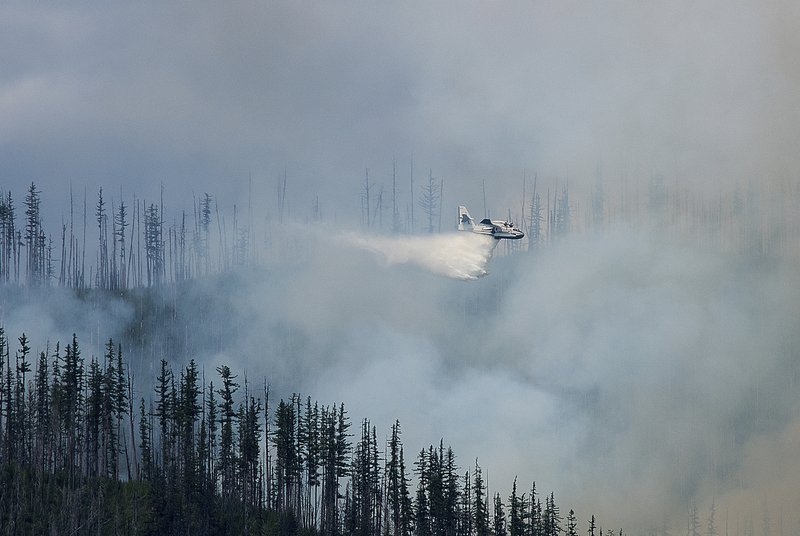 Glacier latest US park to be scorched by Western wildfires