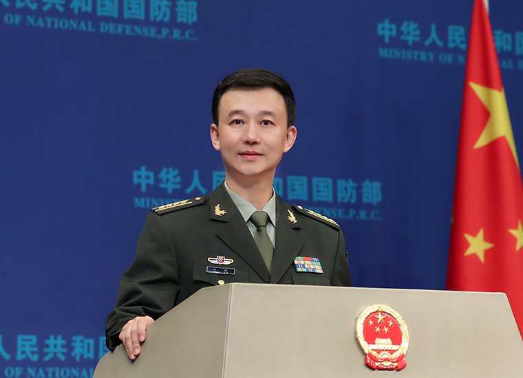 Chinese defense ministry opposes China-related contents in US defense act