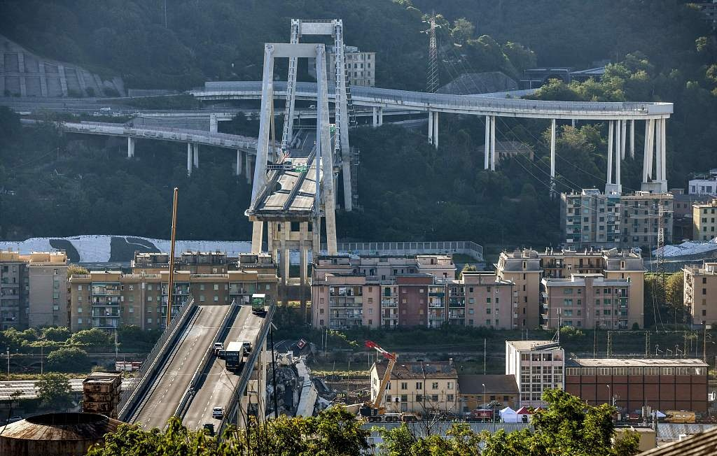 No Chinese casualties in Italian bridge collapse