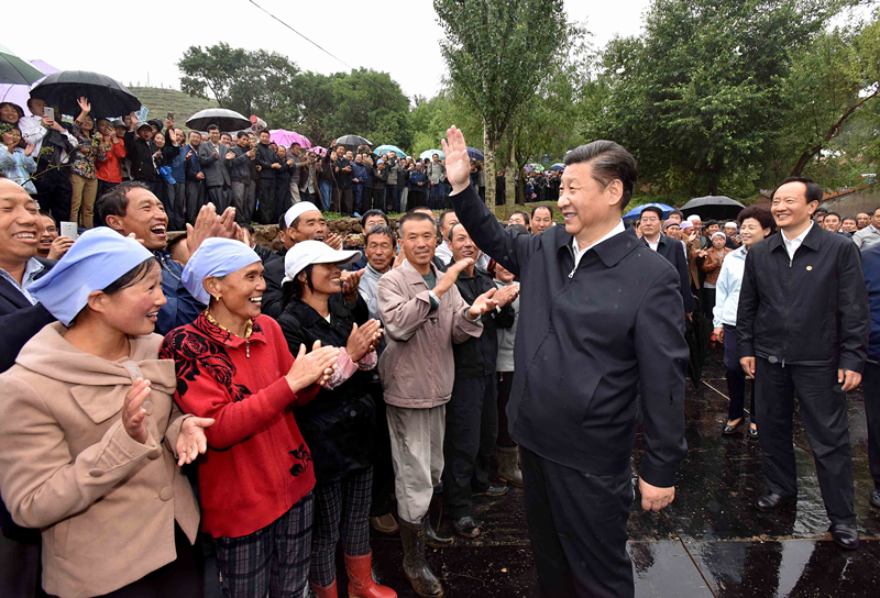 Book of Xi's discourses on poverty alleviation published