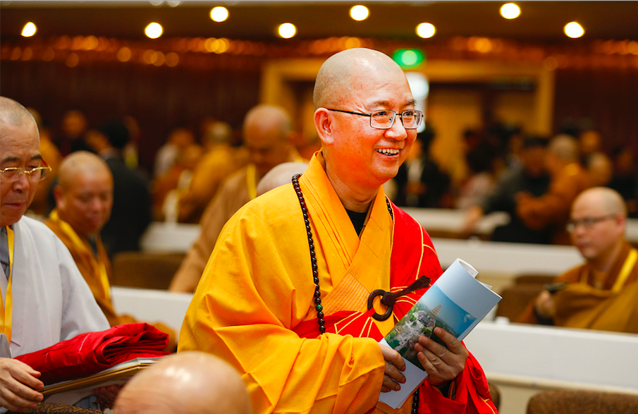 China's top monk resigns as Buddhist association head