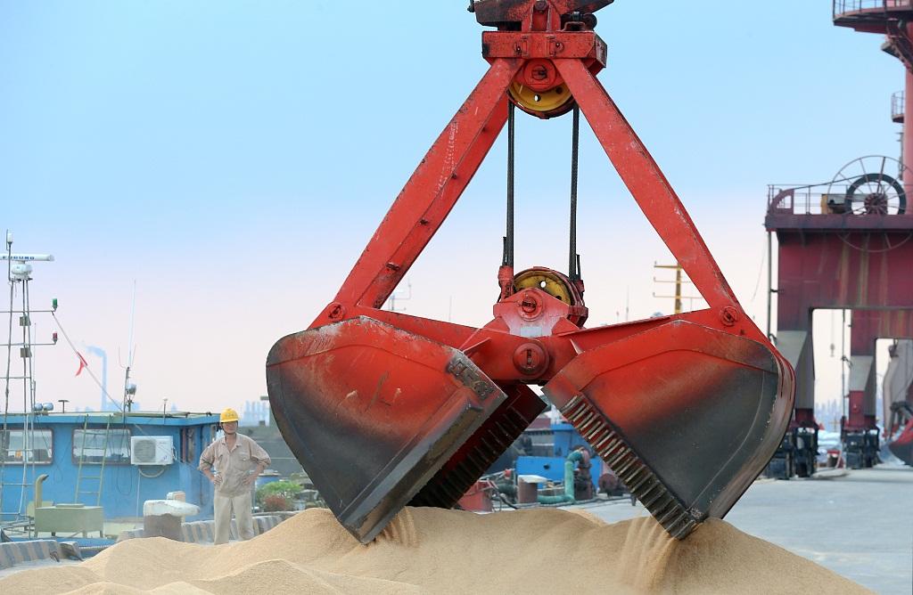 Chinese enterprises diversify soybean import channels
