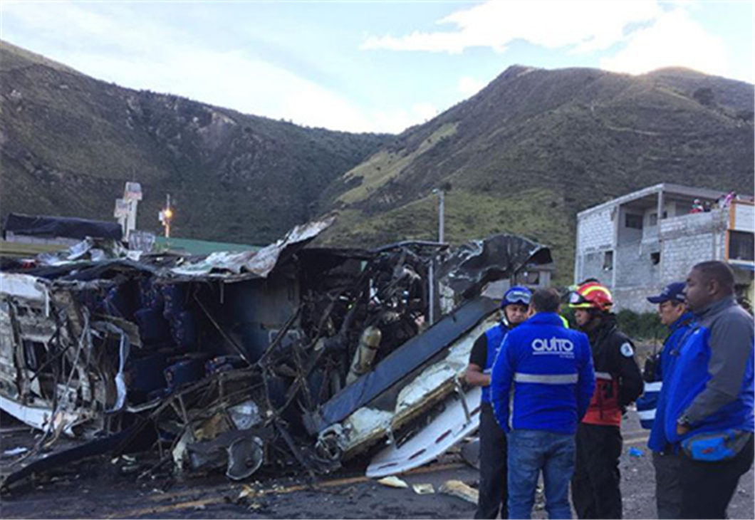 Colombia says 19 citizens killed in tourist bus crash