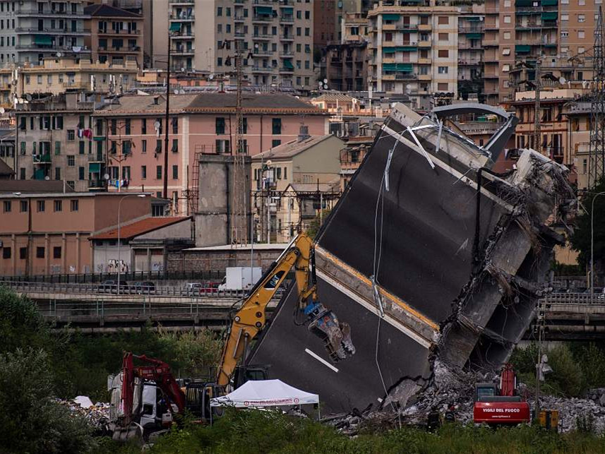 EU hits back at Italy govt over bridge disaster comments
