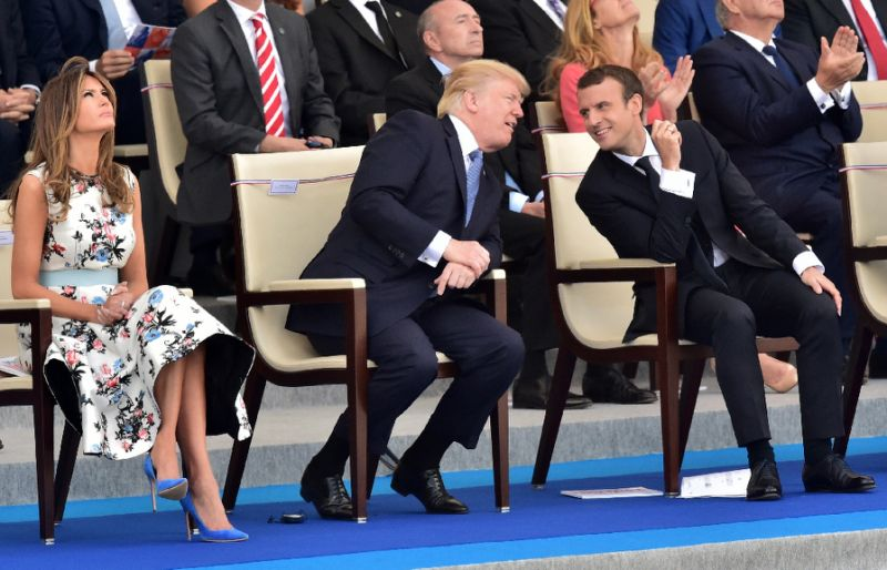 Trump says will attend November WWI parade in Paris