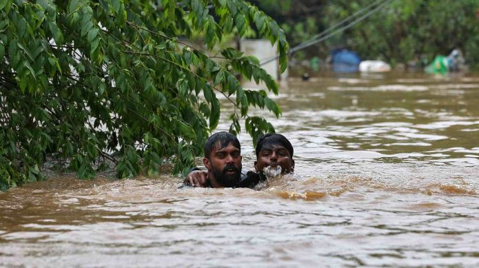 Century's worst flood kills at least 164 people in south India