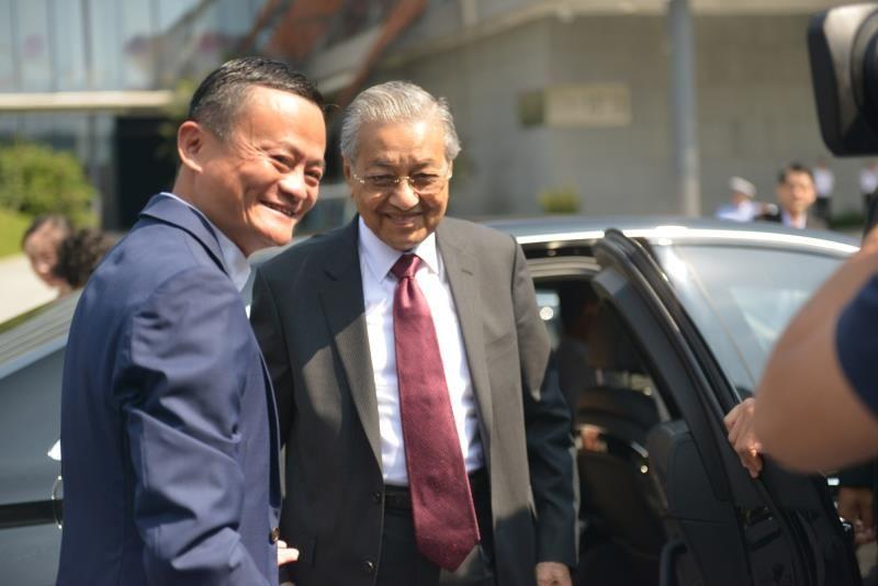 Malaysian PM tours Alibaba Group headquarters in E China