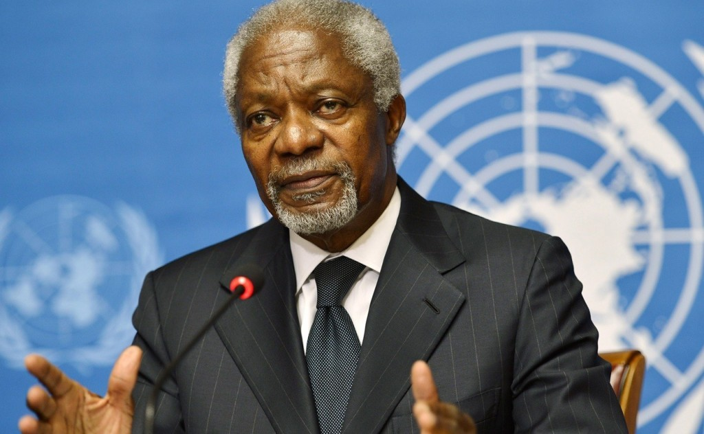 Former UN Secretary-General Kofi Annan dies at age 80