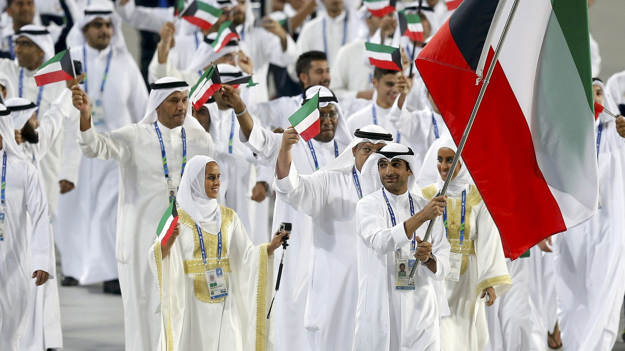 Kuwaiti athletes allowed to carry own flag in 2018 Asian Games