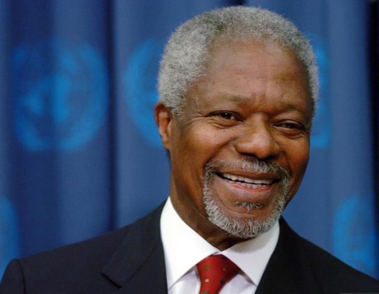 Kofi Annan's death leaves a void for the African continent : Namibian President