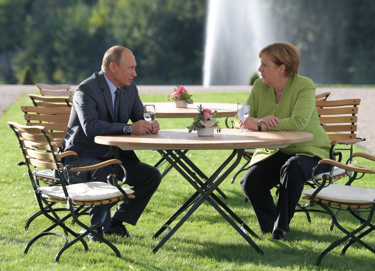 Syria and Ukraine dominate Merkel-Putin meeting