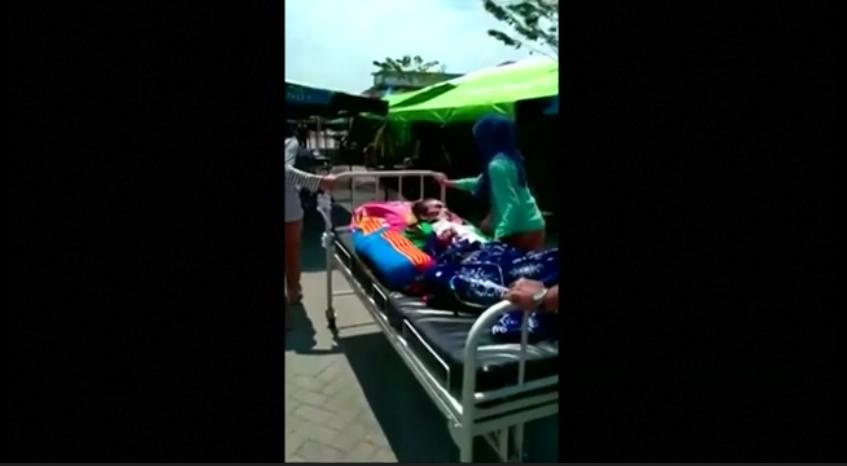Strong quake triggers landslides on Indonesian Lombok island