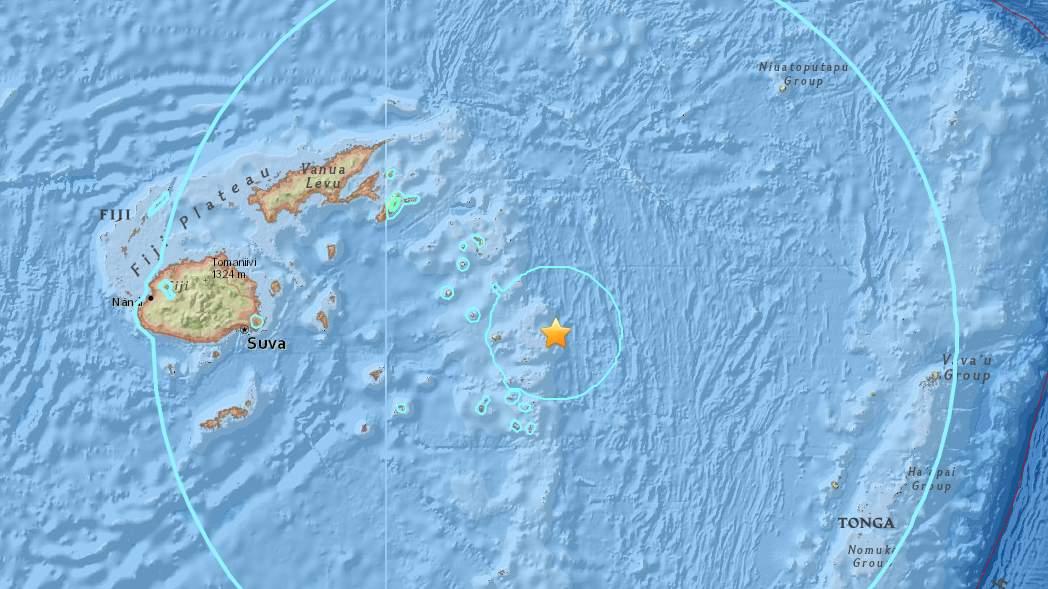 8.2-magnitude quake strikes off Ndoi Island, Fiji, no tsunami threat