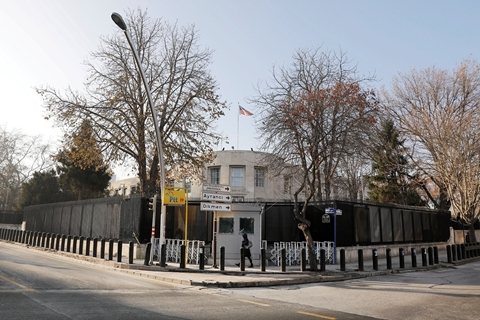 Shots fired at US embassy in Turkey, no casualties reported