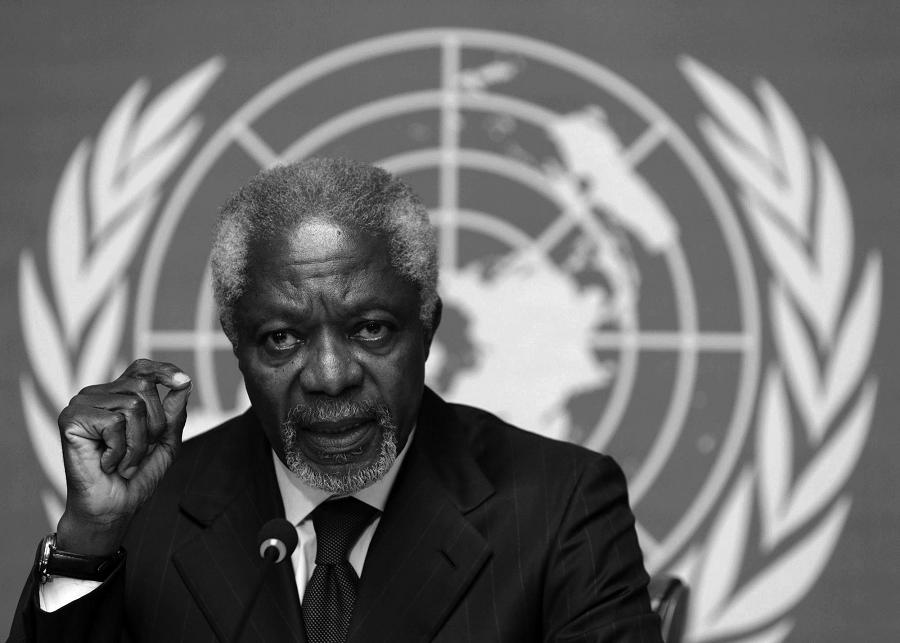 China mourns death of former UN chief Kofi Annan