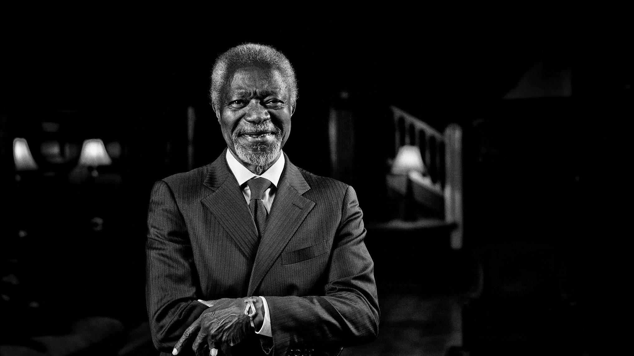 Xi sends condolences to UN chief on Annan's death