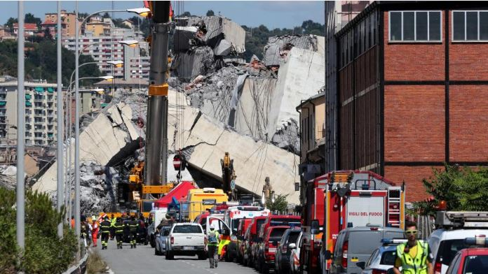 Genoa bridge collapse highlights Italy's aging infrastructure