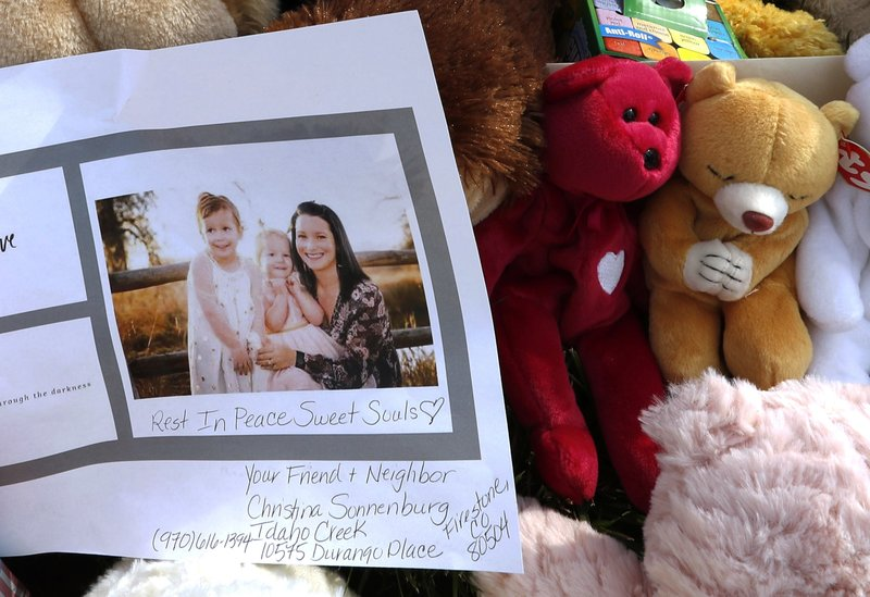 Colorado man charged with murder says wife killed daughters