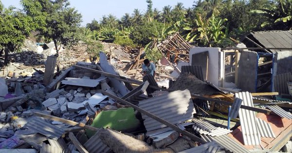 Indonesia: Lombok quakes don't meet national disaster status