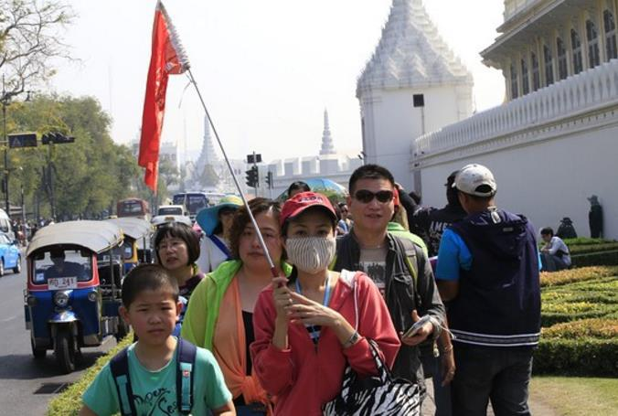 Chinese tourists to Thailand drop slightly in July