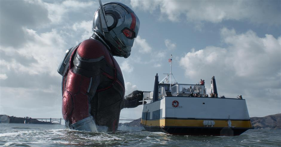 'Ant-Man and the Wasp' to fly into cinemas across China