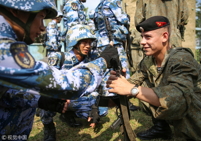 Chinese military to participate in strategic drills in Russia