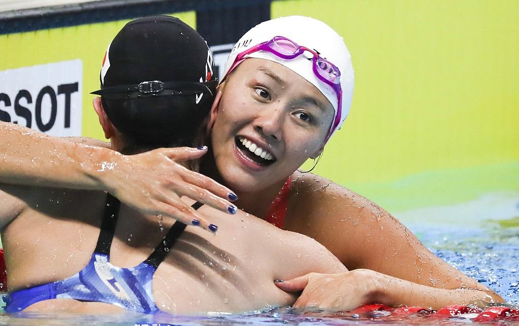 China's Liu Xiang breaks 50m backstroke world record at Asian Games