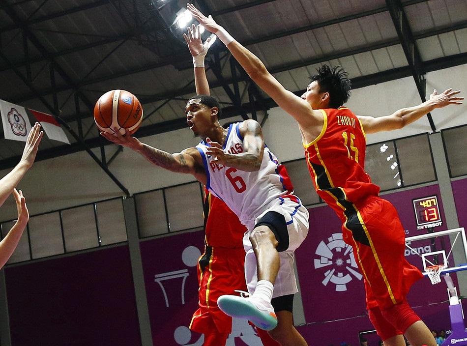 China beats Philippines in basketball at Asian Games
