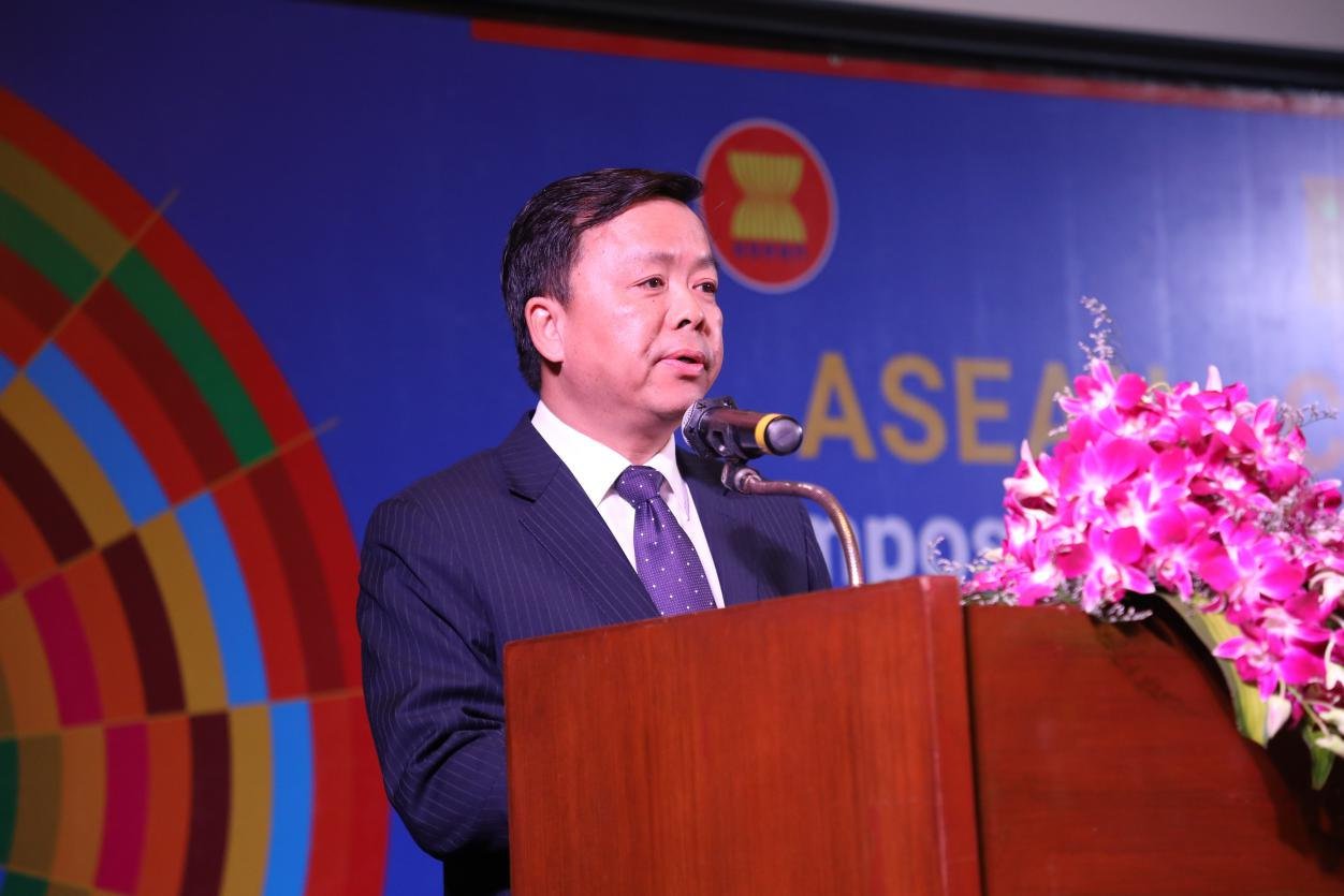 China ready to step up support for ASEAN's sustainable devt goals: diplomat
