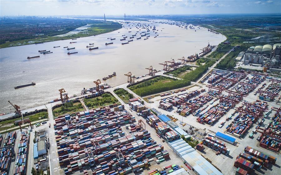 Multimodal transport system built to promote development of Yangtze River Economic Belt