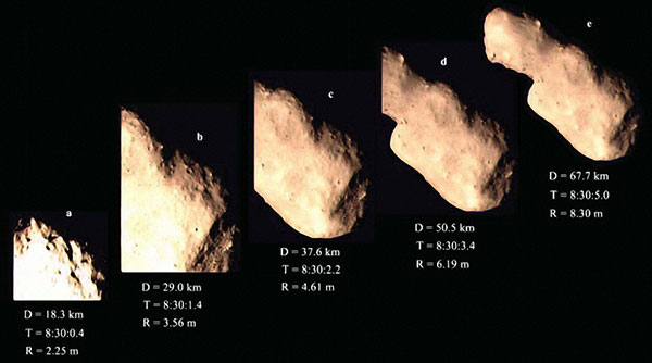 Astronomers unravel mysterious past of asteroid Toutatis