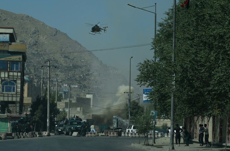 Hours-long battle ends in Kabul after militants killed