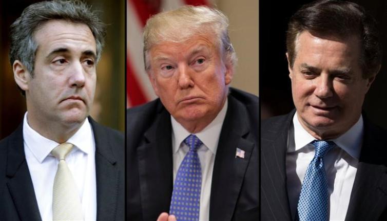 Manafort conviction and Cohen plea boost Mueller probe