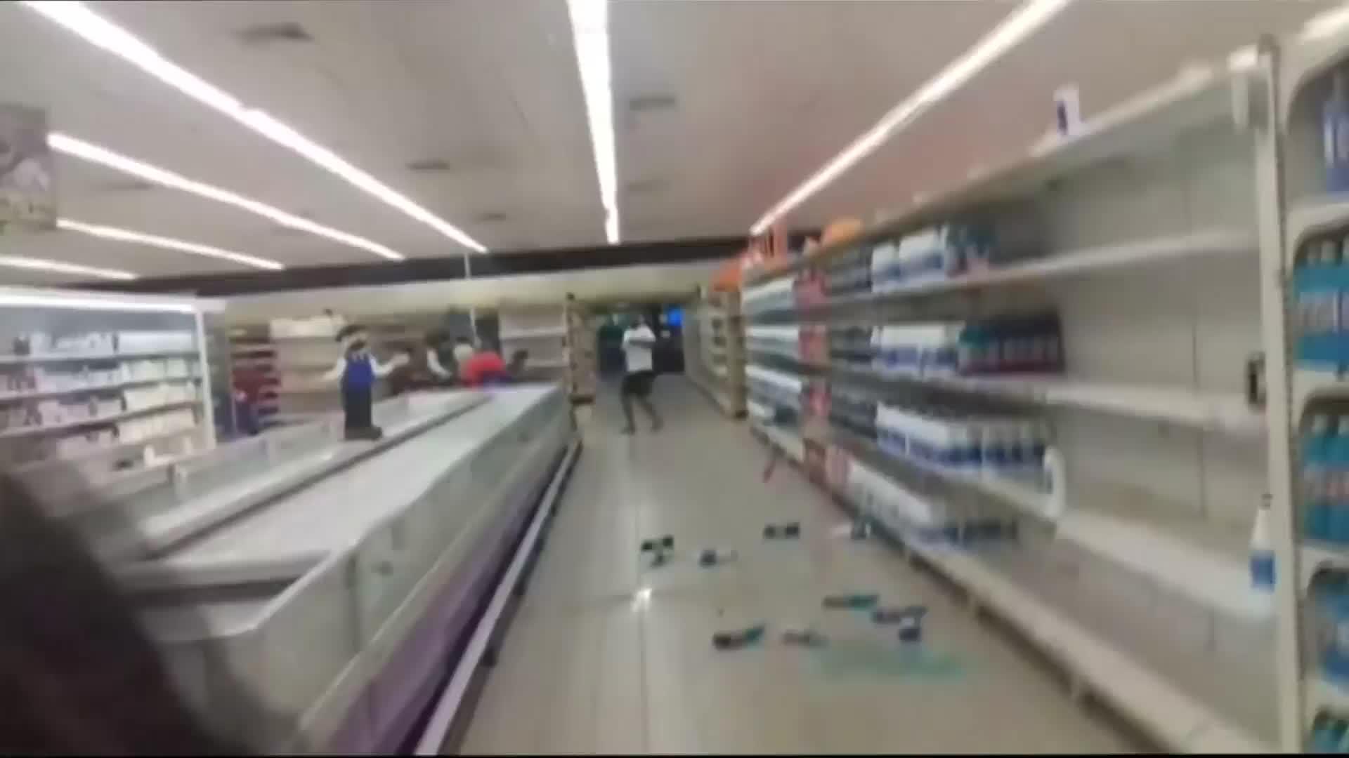 Major earthquake rattles Venezuelan coast