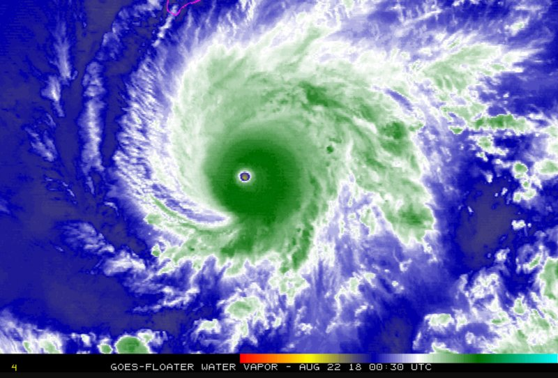 Hurricane Lane now at Category 4 as it heads toward Hawaii