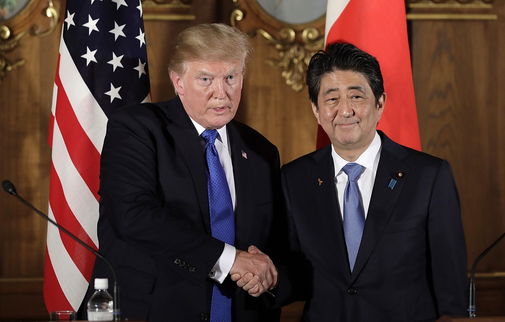 Trump speaks with Abe over phone on DPRK, UN meeting: White House