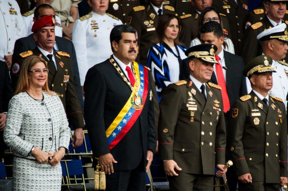 Venezuela seeks to extradite 9 suspected of attempt to kill president