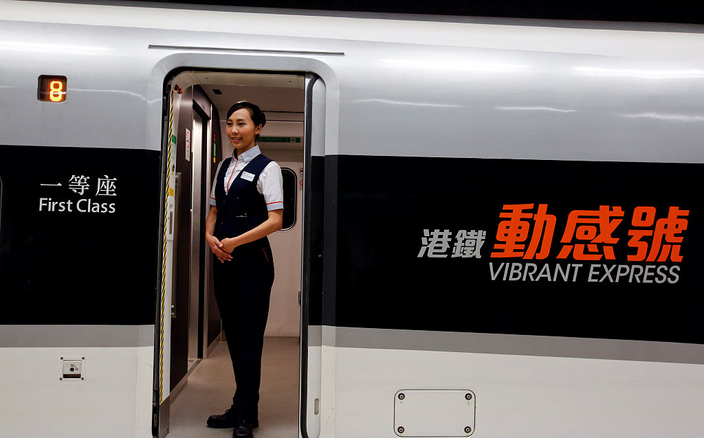 HK section of Guang-Shen-HK high-speed rail to be operational next month