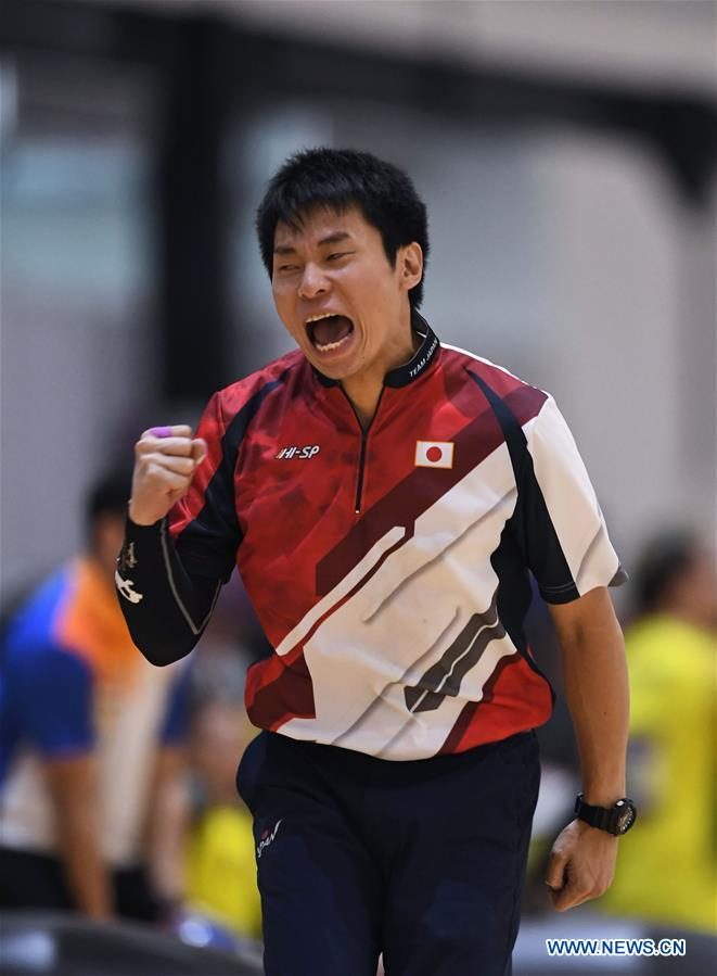 Highlights of Bowling Men's Trios event at 18th Asian Games