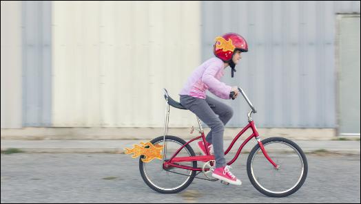 Do not let trade disputes ruin children's cycling fun