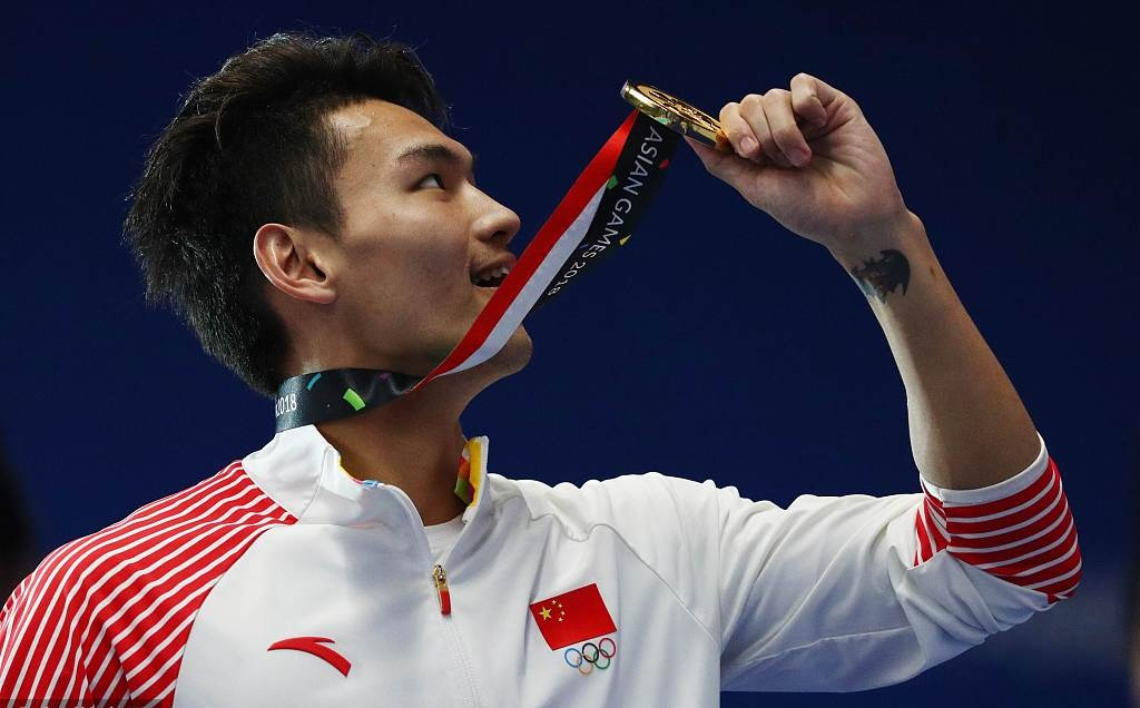 China garners 5 gold medals in rowing at Asiad