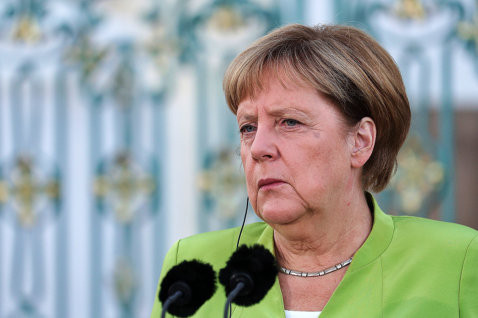 German Chancellor Merkel voices support for territorial integrity of Georgia